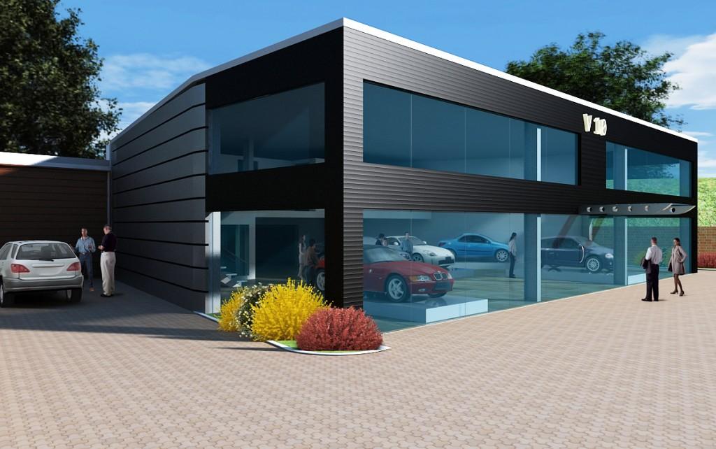 V10 Car Showroom C14 Design