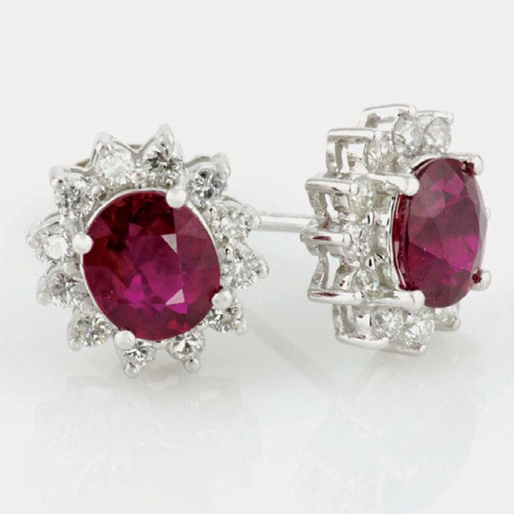 single stone earings
